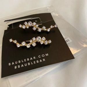 BaubleBar ear crawlers